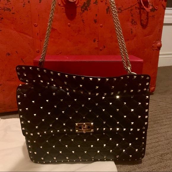 Valentino Handbags - Valentino Rockstud Spike Maxi Shoulder Bag
